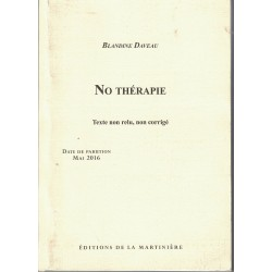 No thérapie - Blandine Daveau