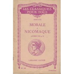 Morale à Nicomaque, livres...