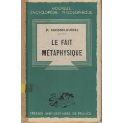 Le fait métaphysique -...