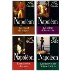 Napoléon - Max Gallo, en 4...
