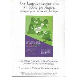 Les langues régionales à...