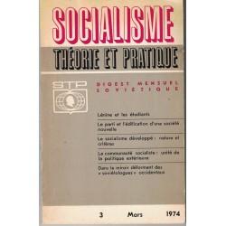 Revue socialisme thérorie...