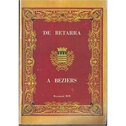 De Betarra à Béziers...