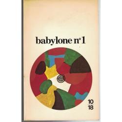 Revue Babylone n°1 10/18 -...