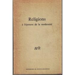 RELIGIONS À L'ÉPREUVE DE LA...